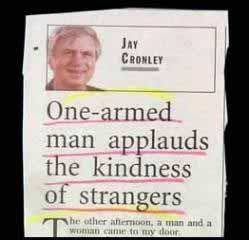 Goofed Headline
